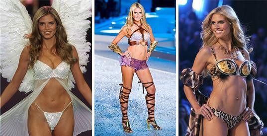 Heidi Klum bývala andílkem Victoria's Secret.