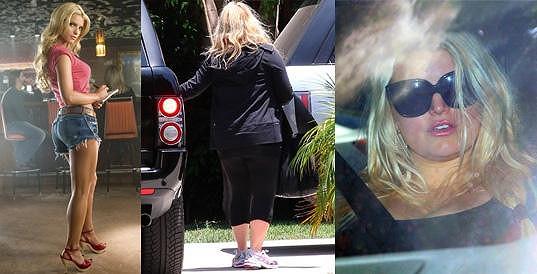 Jessica Simpson během těhotenství přibrala.