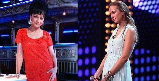 Lucie Bílá a Karolína Krézlová si nebudou po chuti.