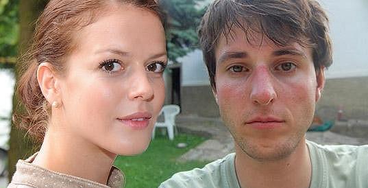 Andrea a její přítel Jakub.
