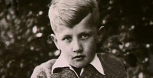 Jiří Šlitr ve svých dětských letech.