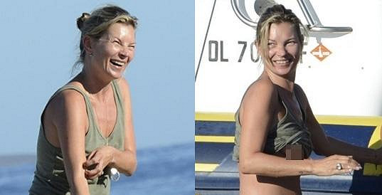 Kate Moss dnes.