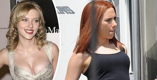 Blondýnka či zrzka, Scarlett je vždy nádherná.