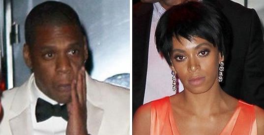 Solange dokonce minulý týden napadla Jay-Z ve výtahu.