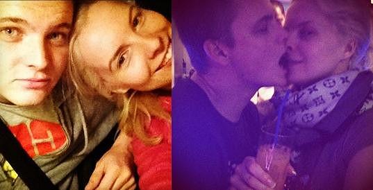 Kateřina a Kazma už svou lásku netají.