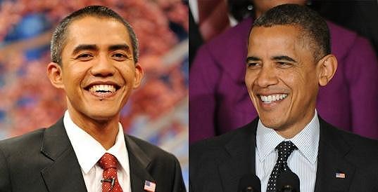 Ilham Anas a Barack Obama.