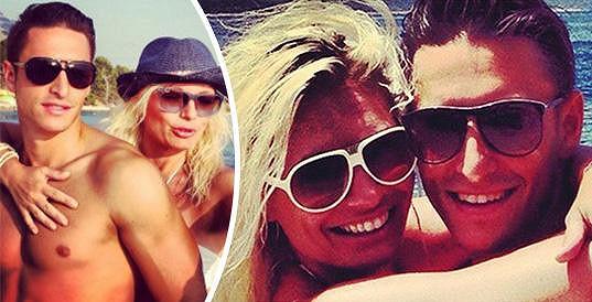 Není divu, když s přítelem Michalem Hrdličkou tráví léto na dovolených.