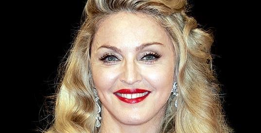 Madonna na premiéře.