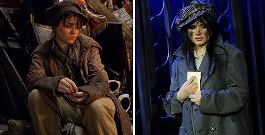 Britská herečka Samantha Barks (vlevo) je Magdě Malé neskutečně podobná.