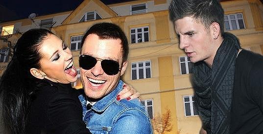 Mareš a jeho expřítelkyně Hana Svobodová.