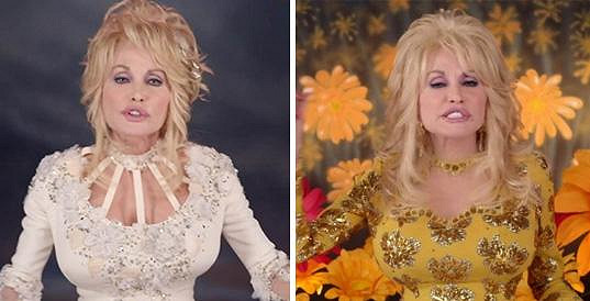 Americká country zpěvačka Dolly Parton.