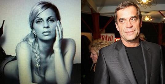 Miroslav Etzler randí s touto půvabnou blondýnou, která skrývá velké tajemství.