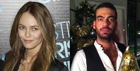 Vanessa Paradis a její nový přítel Guy-David Gharbi.