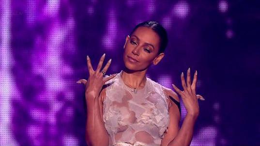 Mel B na finále X Factoru