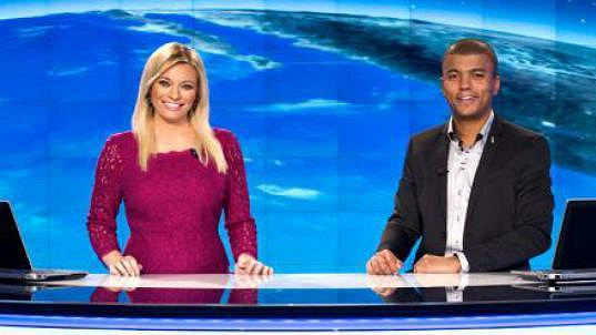 Spokojená Borhyová se včera vrátila na televizní obrazovky.
