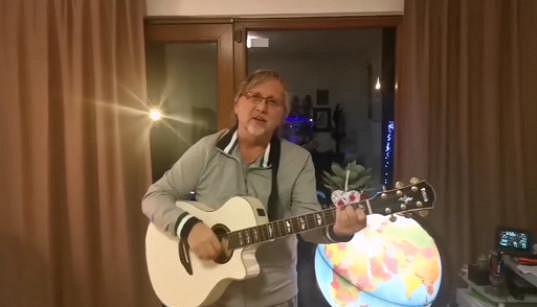 Dalibor Janda a jeho novoroční zdravice