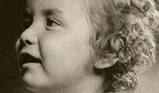Hana Maciuchová byla roztomilé dítě.