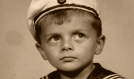 Roman Štolpa jako malý kluk.
