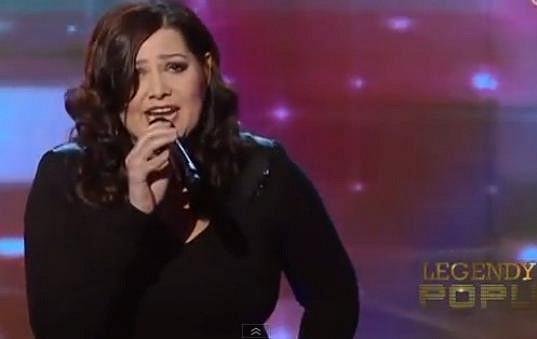 Ilona Csáková vystoupila na Slovensku v rámci galavečera Legendy popu.