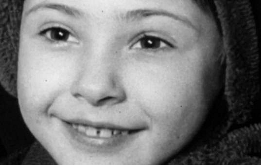 Dagmar Patrasová jako malá holčička