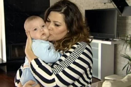 Ilona Csáková se pochlubila pětiměsíčním synem Dominikem.