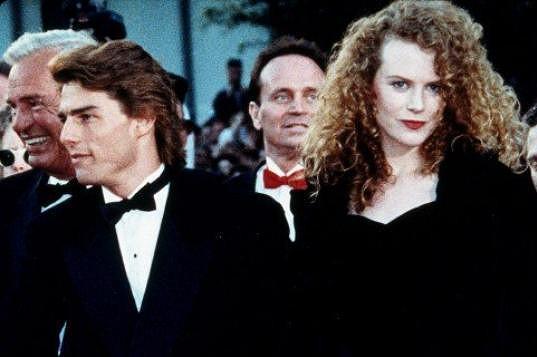 Herečka s exmanželem Tomem Cruisem