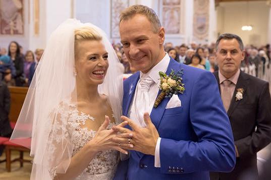 Moderátorská dvojice vstoupila v Trnavě do manželství.