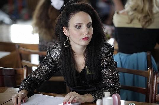 Veronika Nová ve Vyprávěj, kde hrála modelku Klaudii.