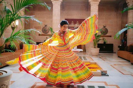 Svatba proběhla v duchu indických tradic.