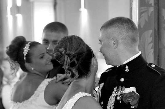 S manželem Lewisem ve svatebním