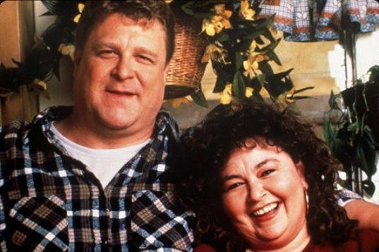 Se svým seriálovým manželem Johnem Goodmanem