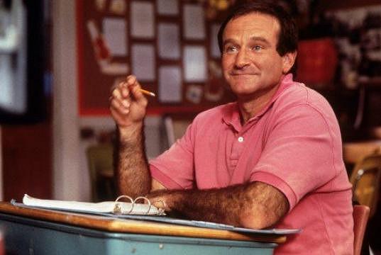 Williams v komedii Mrs. Doubtfire - Táta v sukni z roku 1993