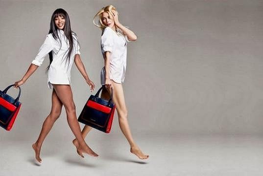 S kolegyní Naomi Campbell ještě nedávno fotily módní kampaň.