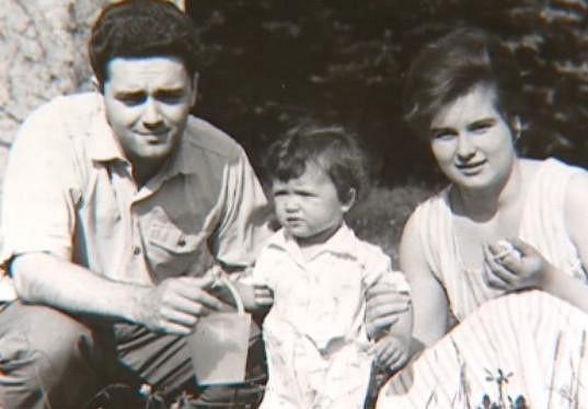 Simona Chytrová s tatínkem.