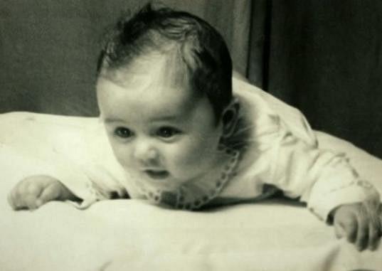 Halina Pawlowská jako malá holčička.