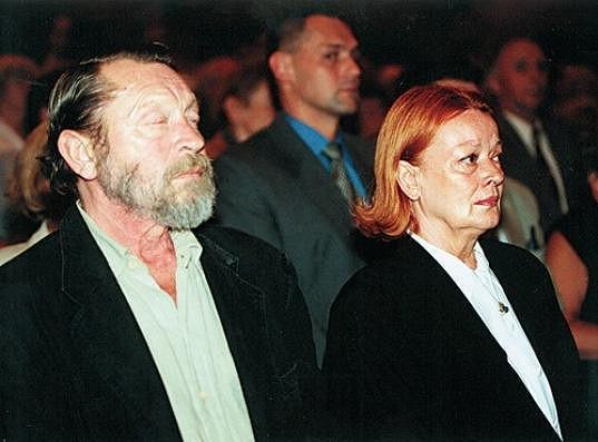 Jana Brejchová s Jiřím Zahajským