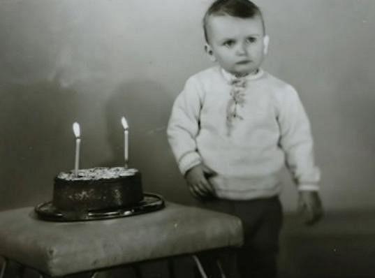 Dalibor Gondík jako malý kluk.