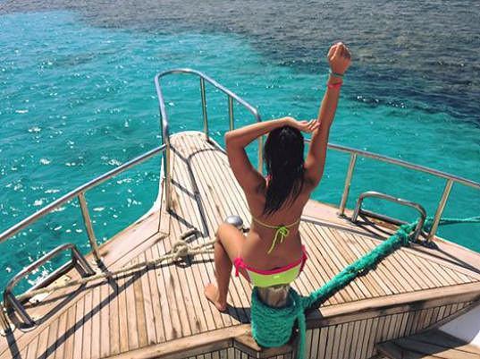 Užila si plavbu na lodi.