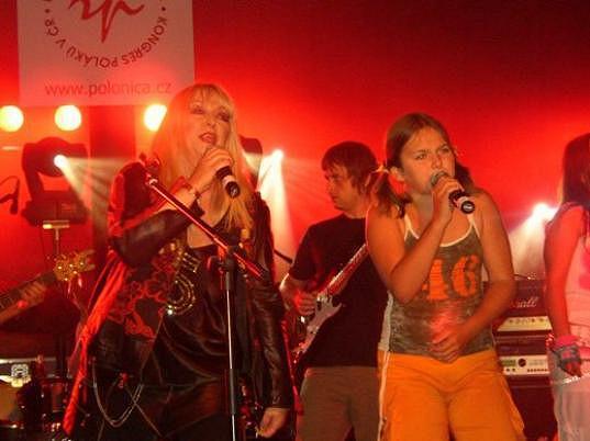 Na koncertě s polskou zpěvačkou Marylou Rodowicz.