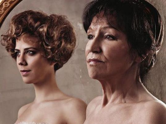 Aneta Langerová a Marta Kubišová v muzikálu Touha jménem Einodis