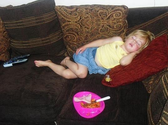 Charlotte ve dvou letech