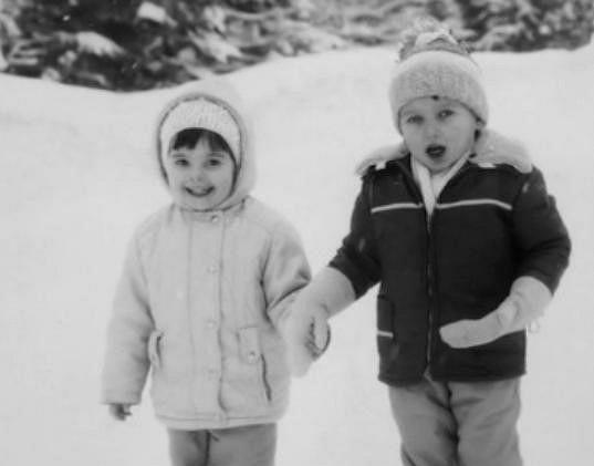 Dalibor Gondík a jeho sestra Adéla