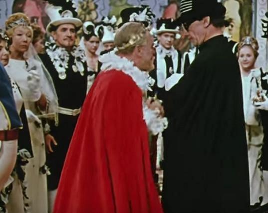 Oldřich Dědek (vlevo) v pohádce Šíleně smutná princezna