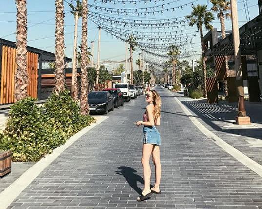 Anna Kadeřávková tráví dovolenou v Dubaji.