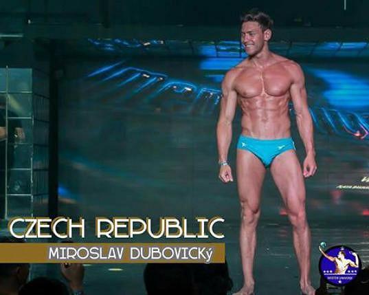 Bodyguarda neměla, blízký kamarád Míra Dubovický soutěžil na Mr. Universe.