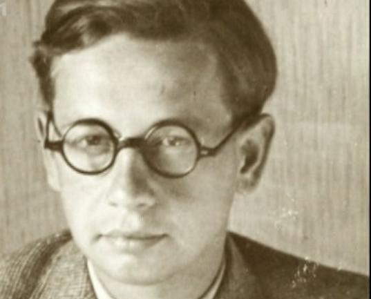 Josef Hlinomaz na fotce ze studentských let.
