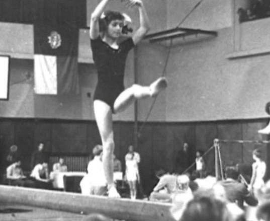 Simona Chytrová se odmalička věnovala gymnastice.