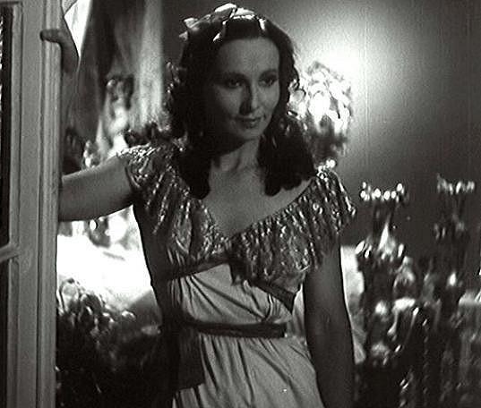 Vlasta Fabianová ve filmu Prstýnek (1944)