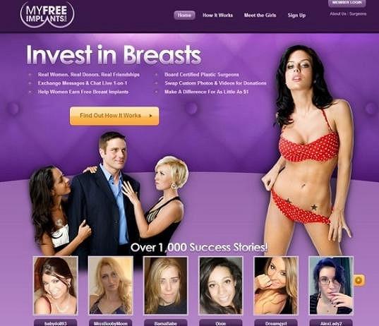 Na webu je spousta dívek a žen, které touží po operaci.