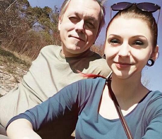 S novou partnerkou Kateřinou